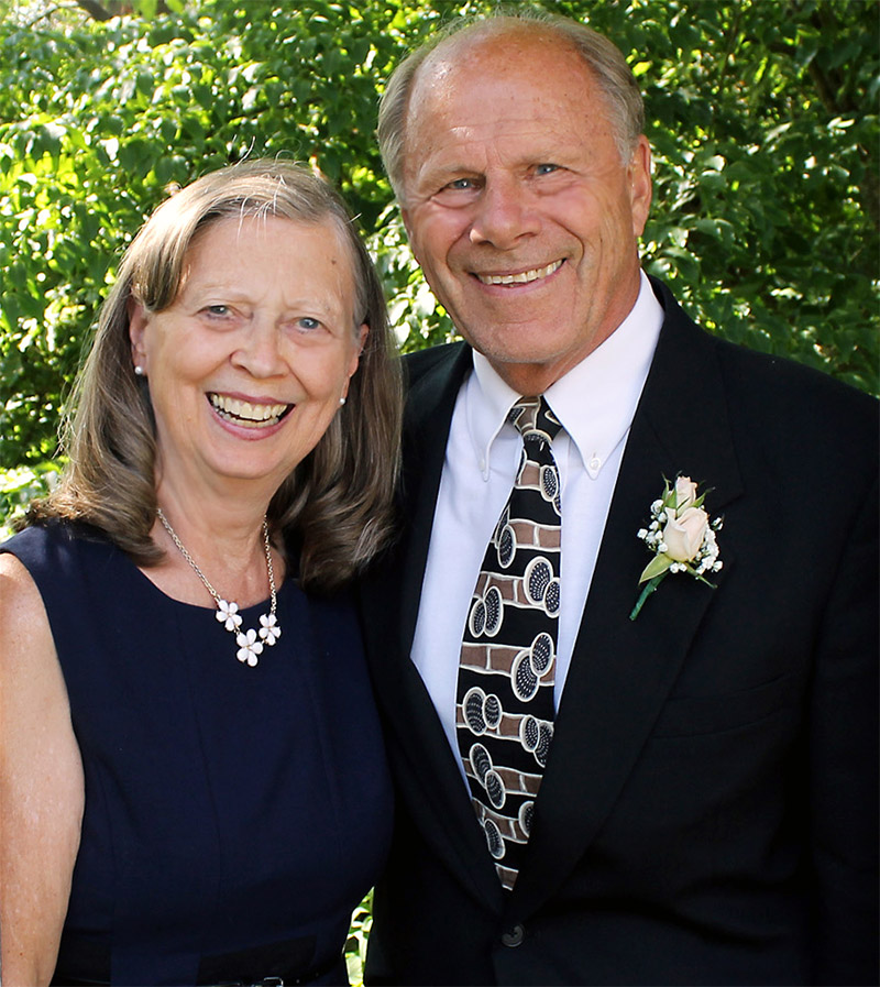 Larry and Sharon Dublanko, lead pastor, Cornerstone Church, Aberdeen, Washington